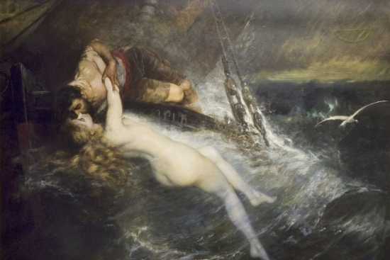 KISS OF SIREN BY GUSTAV WERTHEIMER