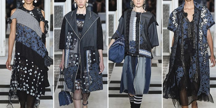 PATCHWORK DRESS BY MARRAS SS17
